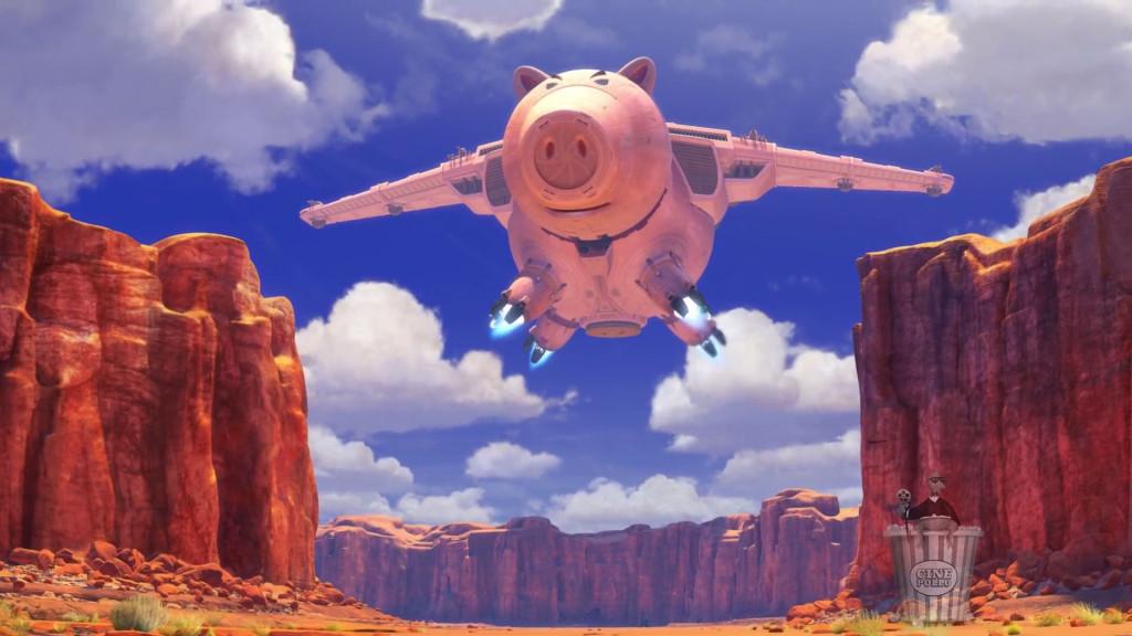 Vengo volando a acabar con la tercera película