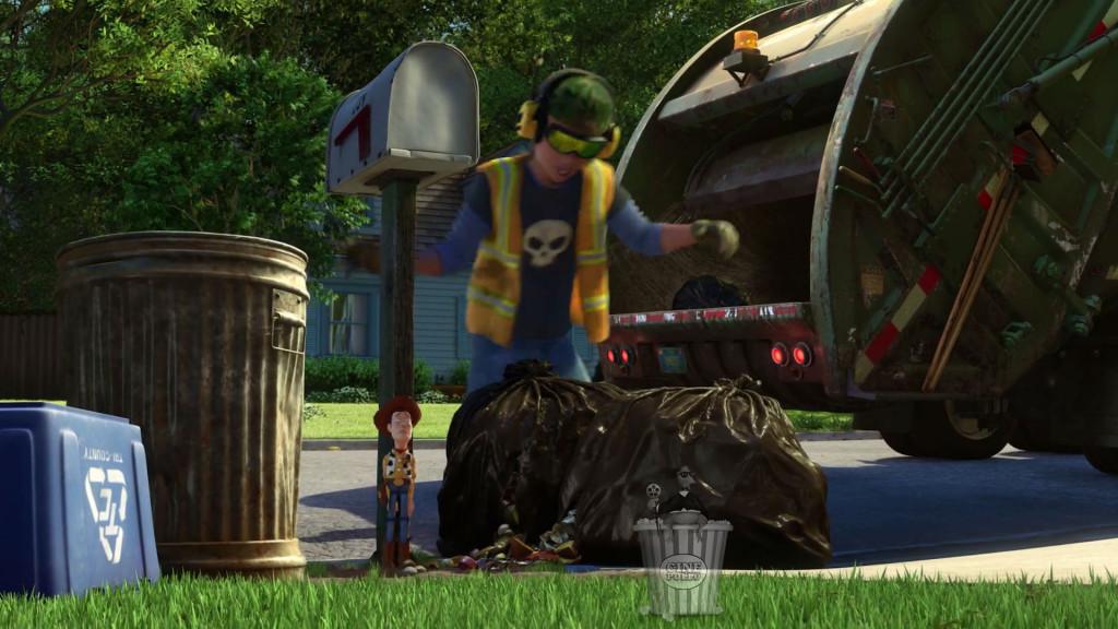 Sid quedó tan perturbado que sólo podrá recoger basura el resto de sus días mientras escucha música a todo volumen.
