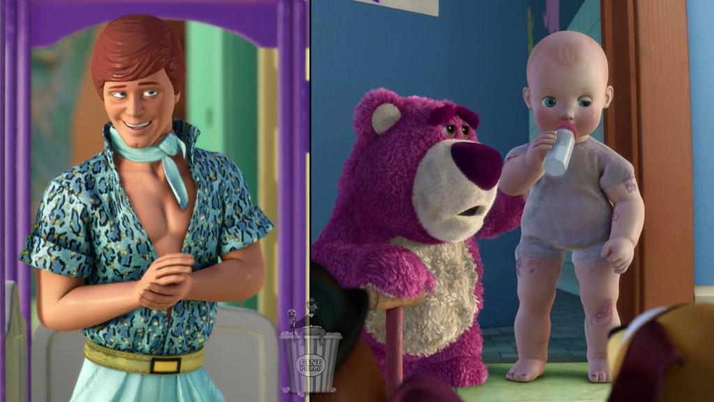No sé quién me da más terror, Ken o el bebé este