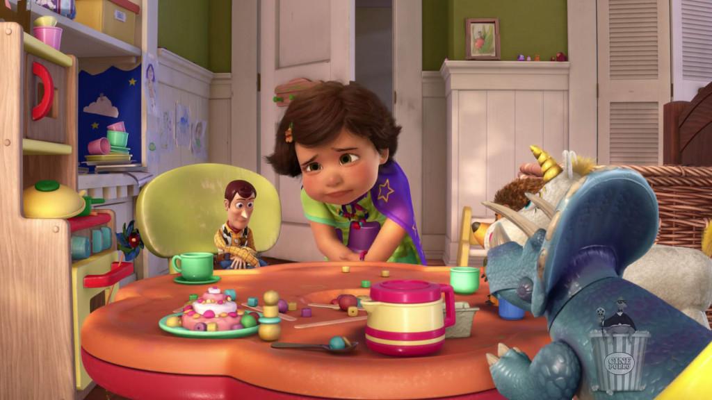 No tomes mucho té, Woody, nada bueno puede suceder