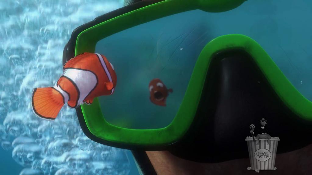 """""""Este pecesito tiene la boca muy grande, me lo voy a llevar"""" pensó el buzo."""
