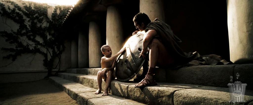 La muerte en el campo de batalla al servicio de Esparta es la gloria más grande de su vida.