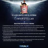 Bases del Concurso para Interstellar IMAX
