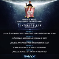 Interstellar IMAX [Semana 1]