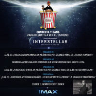 Interstellar IMAX [Semana Final]