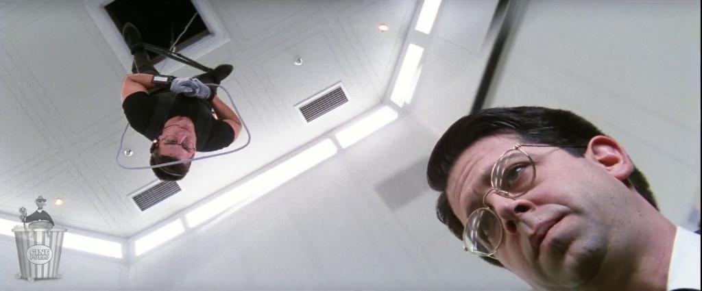 ¿Te acuerdas la vez en que Tom Cruise estaba colgado de un cable?
