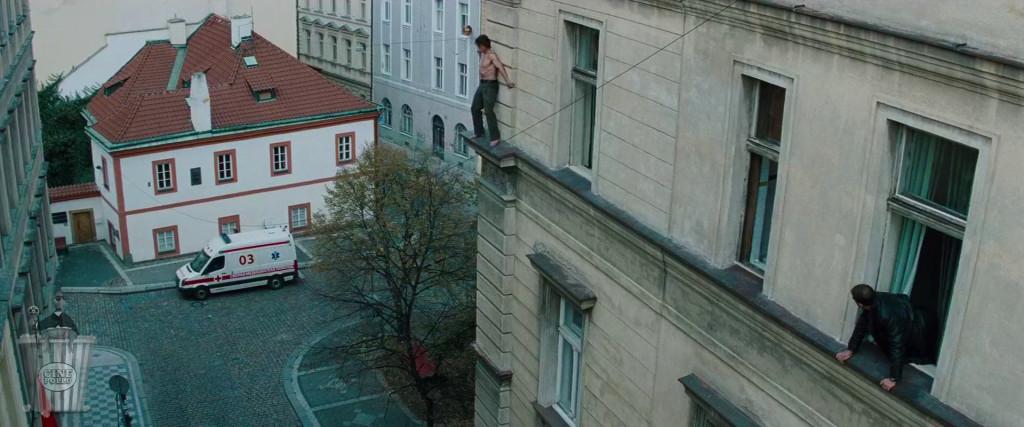 No te ves tan valiente desde aquí arriba.